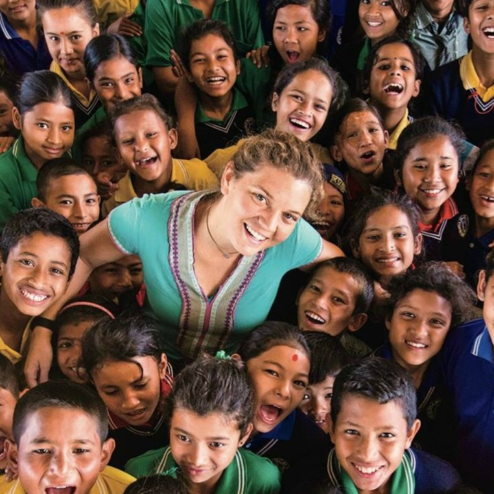 Inspiration Circle: Start Now, Use What You Have with Humanitarian, Maggie Doyne